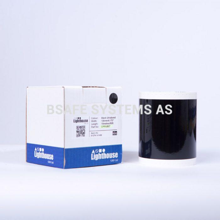 Ultrabond CPM-100 Sort folie CPMUB07 : Bsafe Systems AS