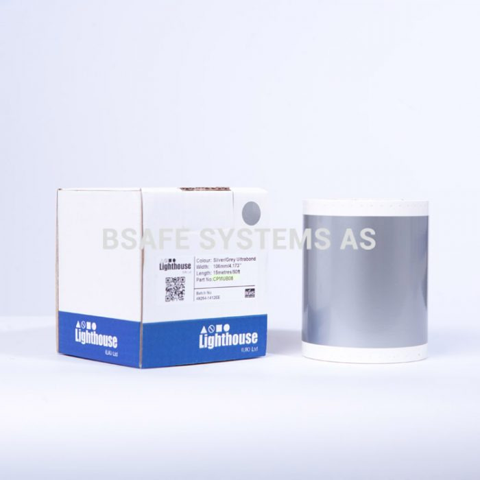 Ultrabond CPM-100 Sølvgrå folie CPMUB08 : Bsafe Systems AS