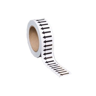 Flow direction marking tape : Bsafe Systems AS