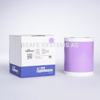 Vinylfolie CPM violett CPM17 : Bsafe Systems AS