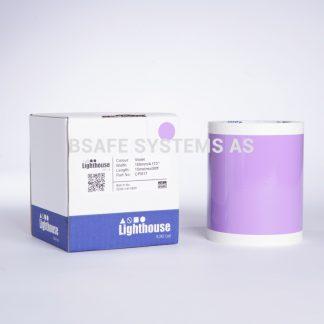 Vinylfolie CPM violett CPM17 : Bsafe Systems AS