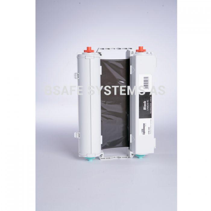 Fargebånd CPM-200 standard Sort : Bsafe Systems AS