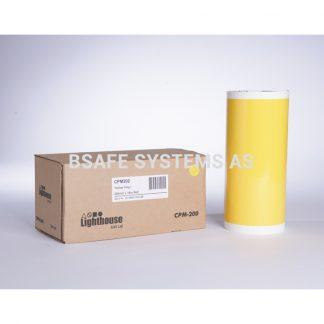 Vinylfolie CPM-200 gul : Bsafe Systems AS