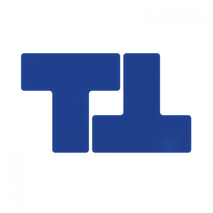 Gulvmerking : Toughstripe T blå 104450 : Bsafe Systems AS