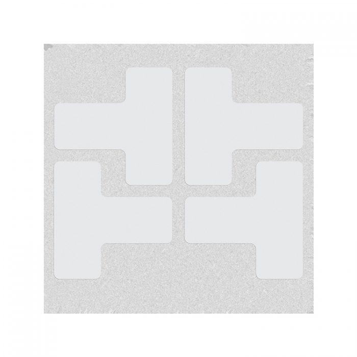 Gulvmerking : Toughstripe T hvit 104441 : Bsafe Systems AS