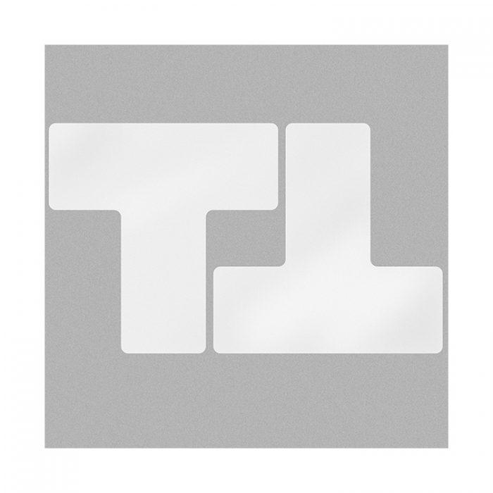 Gulvmerking : Toughstripe T hvit 104453 : Bsafe Systems AS