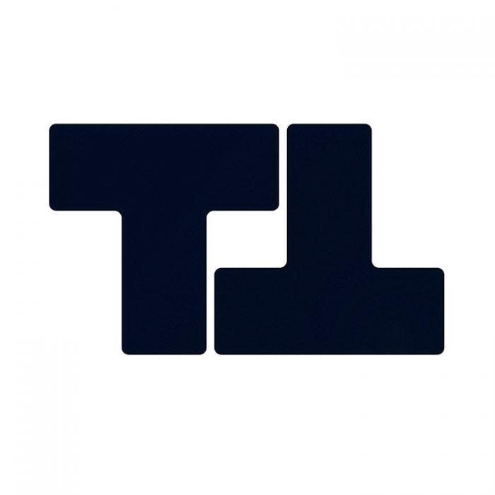 Gulvmerking : Toughstripe T sort 104452 : Bsafe Systems AS