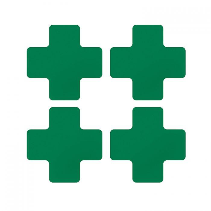 Gulvmerking : Toughstripe + grønn 104467 : Bsafe Systems AS