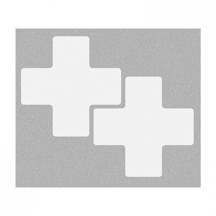 Gulvmerking : Toughstripe + hvit 104477 : Bsafe Systems AS