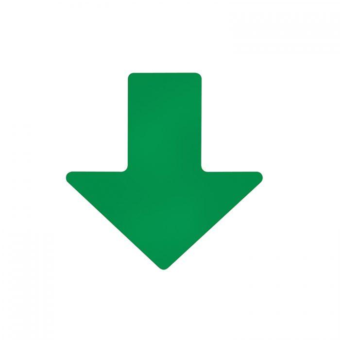 Gulvmerking : Toughstripe gulvtape pil grønn 127mm 104413 : Bsafe Systems AS