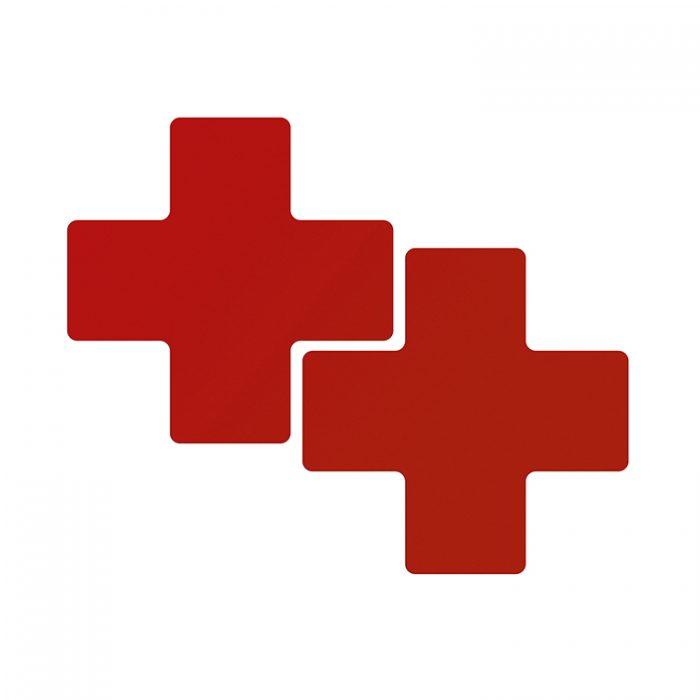 Gulvmerking : Toughstripe + rød 104472 : Bsafe Systems AS