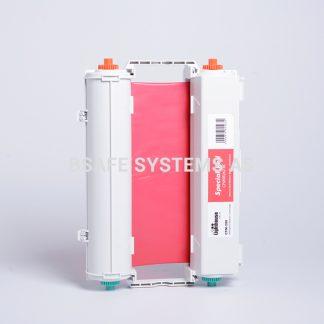 Fargebånd rød CPM-200 : Bsafe Systems AS