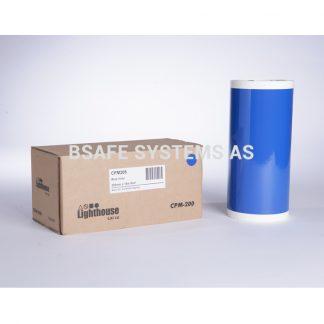 Vinylfolie CPM-200 blå : Bsafe Systems AS