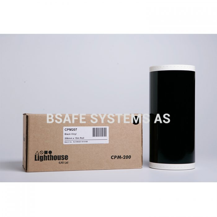 Vinylfolie CPM-200 sort : Bsafe-Systems AS