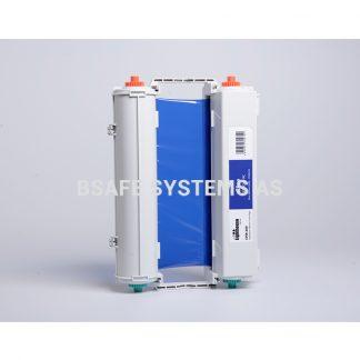 Fargebånd CPM-200 standard Blå : Bsafe Systems AS