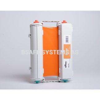 Fargebånd CPM-200 standard Oransje : Bsafe Systems AS