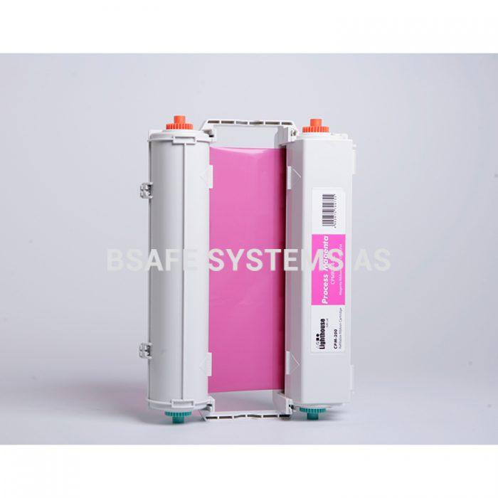 Fargebånd CPM-200 standard Magenta CMYK : Bsafe Systems AS