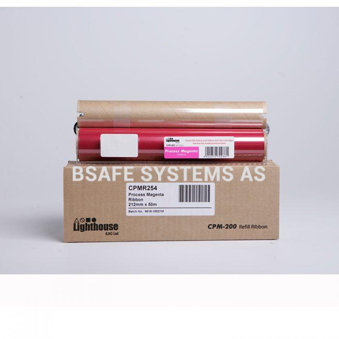 Fargebånd refill CPM-200 standard Magenta CMYK : Bsafe Systems AS