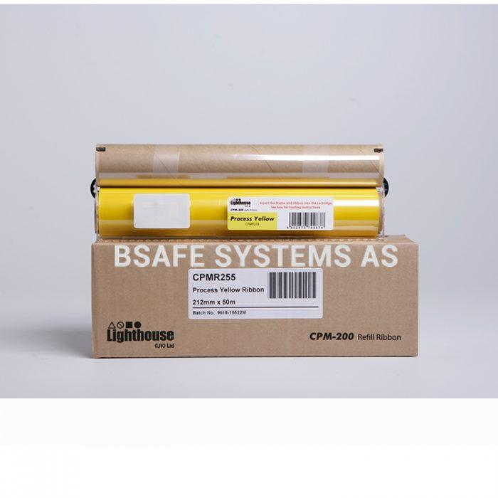 Fargebånd refill CPM-200 standard Yellow CMYK : Bsafe Systems AS