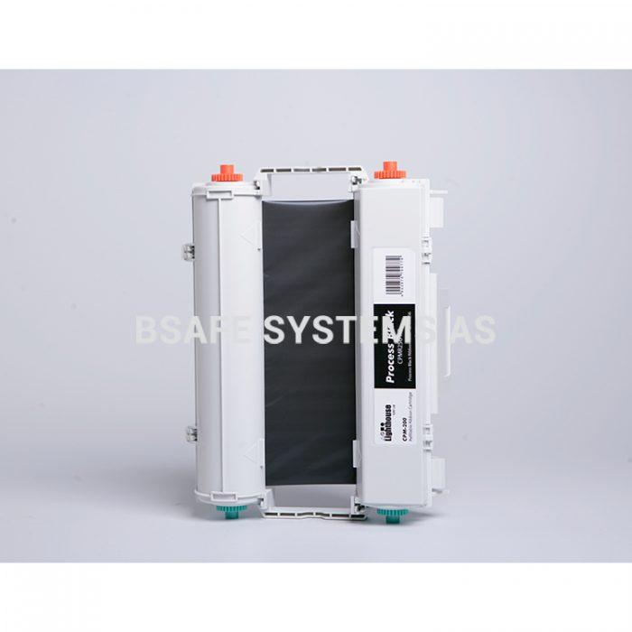 Fargebånd sort CMYK CPM-200 : Bsafe Systems AS