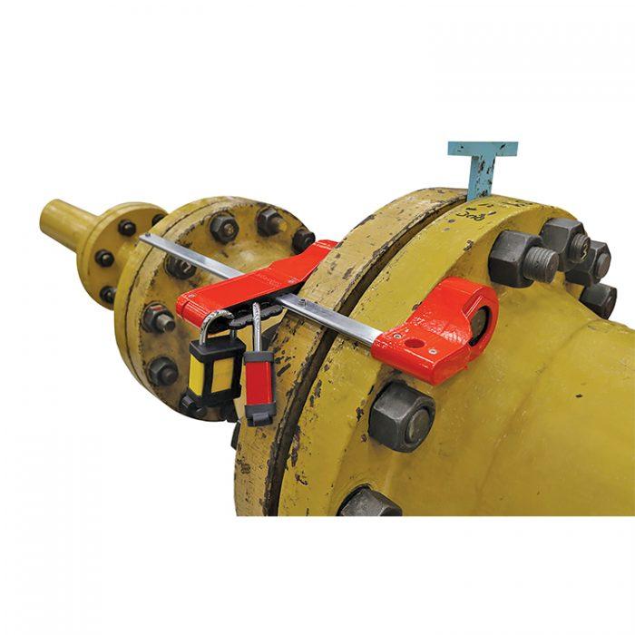 Lockout tagout flenser : 10S3923 i bruk : Bsafe Systems AS
