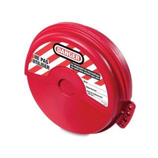 Lockout for sluseventil 122-165MM : Masterlock 100482 : Bsafe Systems AS