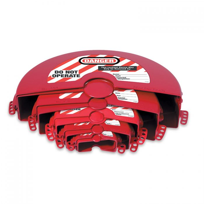 Lockout for sluseventil 25-356 mm : Masterlock 100485 : Bsafe Systems AS