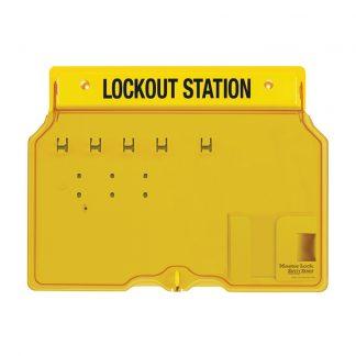 "Loto-skap ""Standard 1"" uten innhold : Masterlock 101482B : Bsafe Systems AS"