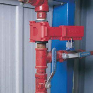 Kuleventil lock medium : Brady 225340 : Bsafe Systems AS