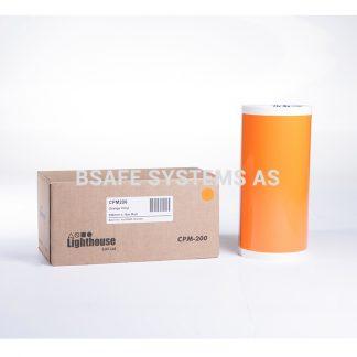 Vinylfolie CPM-200 oransje CPM206 : Bsafe Systems AS