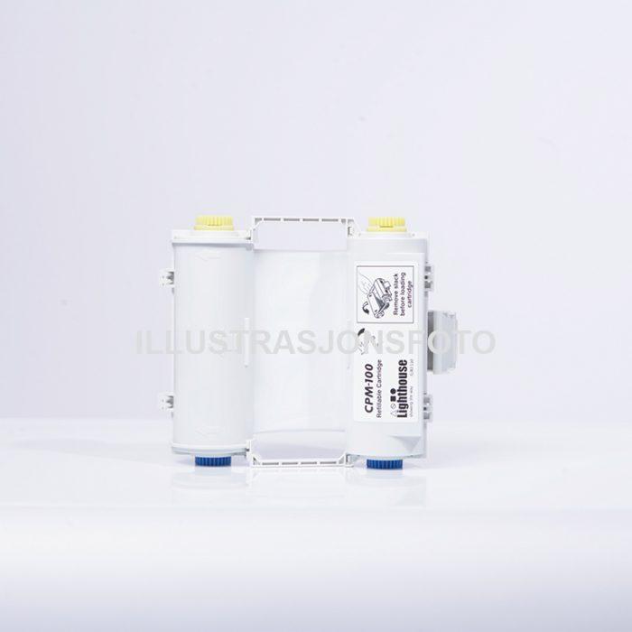 Fargebånd CPM-100 vinyl beige CPMR50-RC : Bsafe Systems AS