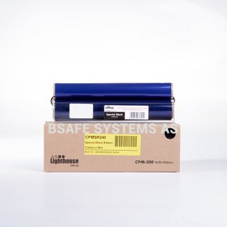 Fargebånd refill CPM-200 Spesial sort CPMSR240 : Bsafe Systems AS