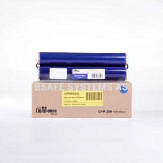 Fargebånd refill CPM-200 Spesial Blå CPMSR243 : Bsafe Systems AS