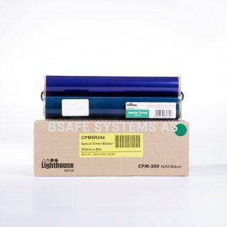 Fargebånd refill CPM-200 Spesial Grønn CPMSR244 : Bsafe Systems AS