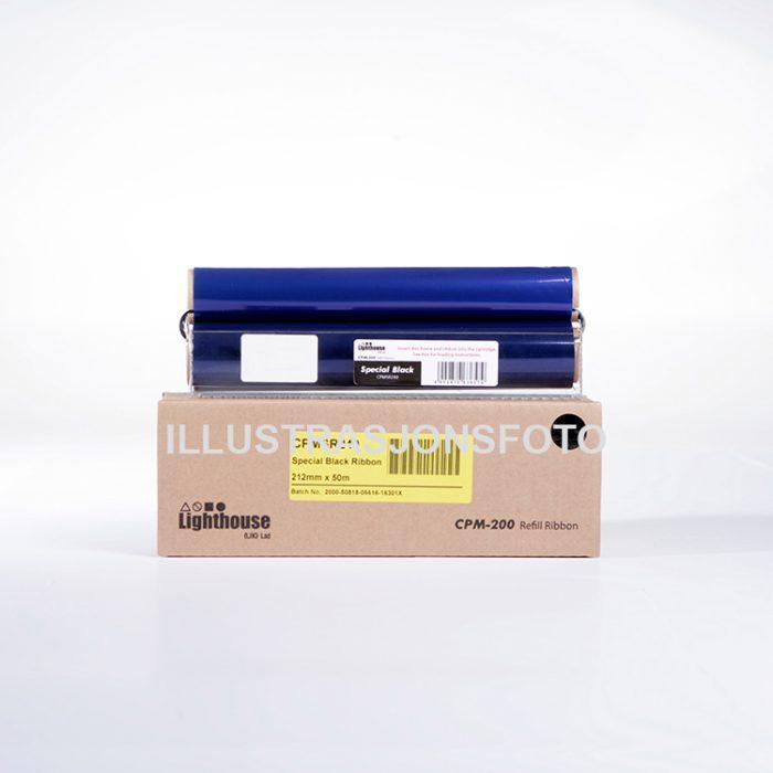 Fargebånd refill CPM-200 standard sort CMYK - Bsafe Systems AS