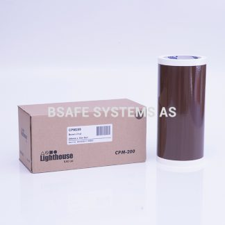 Vinylfolie CPM-200 brun : CPM209 : Bsafe Systems AS