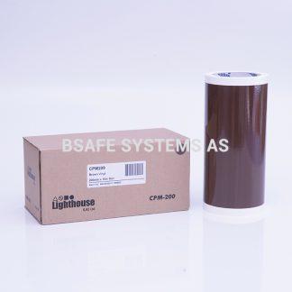 Vinylfolie CPM-200 brun : CPM209 : Bsafe Systems AS