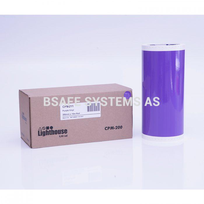 Vinylfolie CPM-200 lilla : CPM211 : Bsafe Systems AS