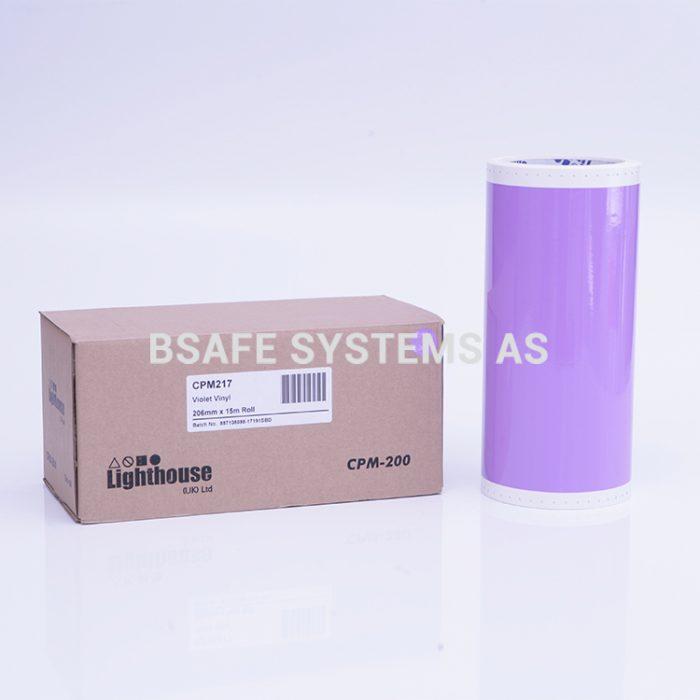 Vinylfolie CPM-200 violett : CPM217 : Bsafe Systems AS