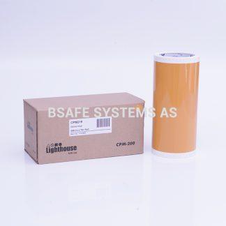 Vinylfolie CPM-200 oker : CPM219 : Bsafe Systems AS